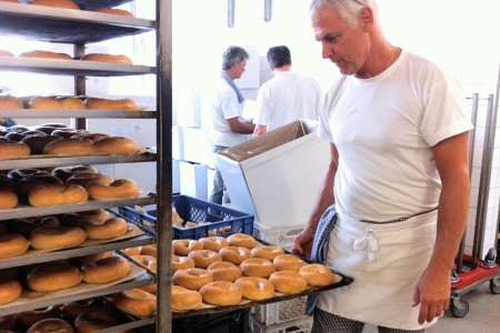 Bagel-production check and freshness guaranteed with American Bagel Company