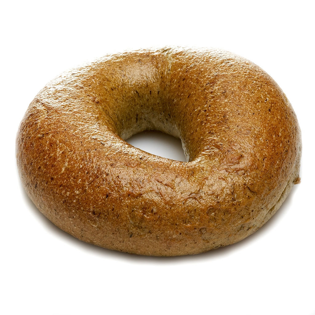 bagel spinach