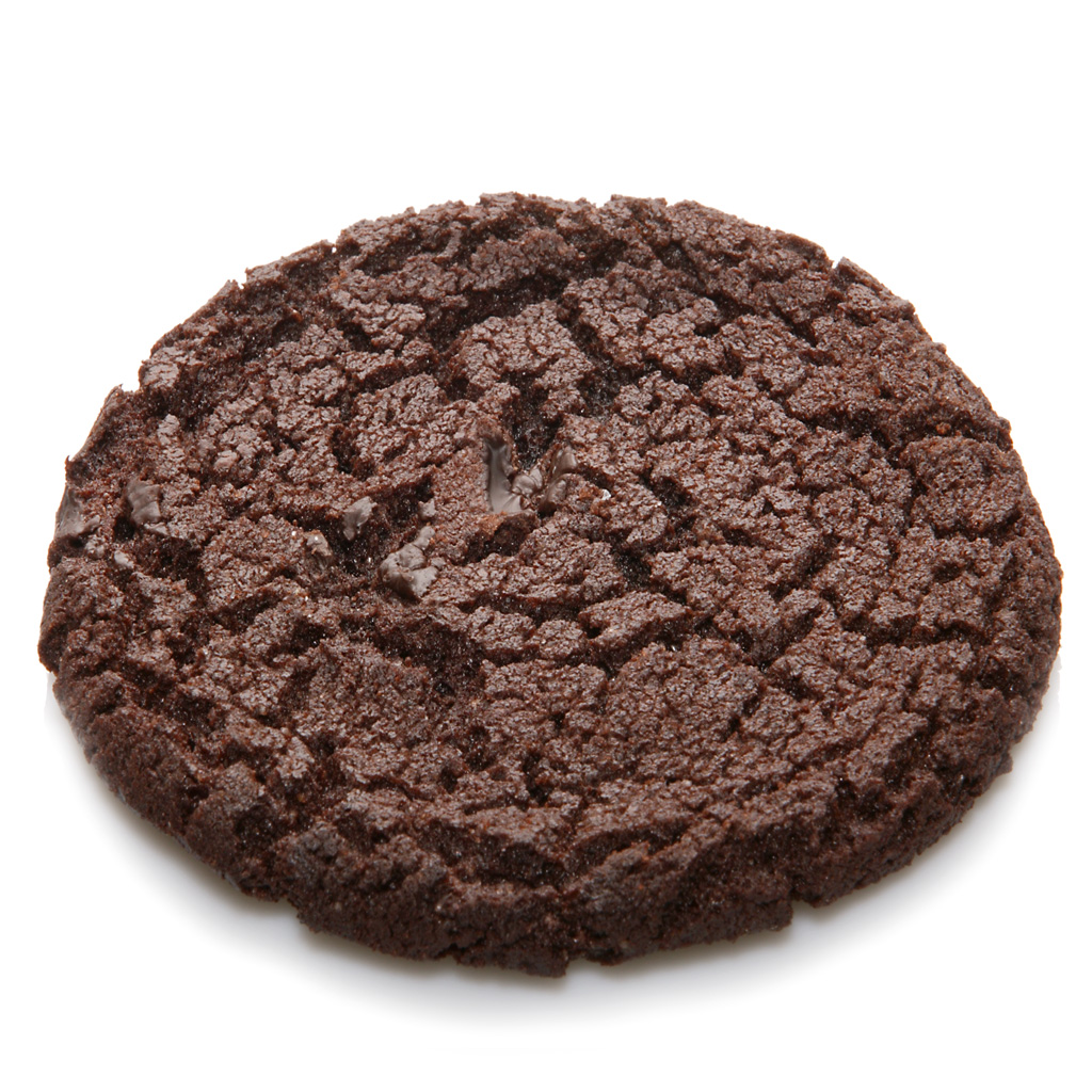 Soft Chocolate Cookie With Chocolate Icing