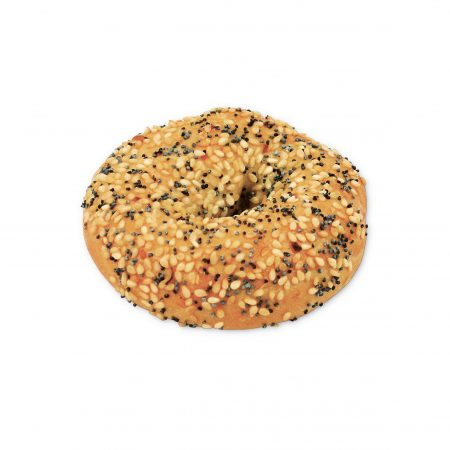 Mini bagel everything